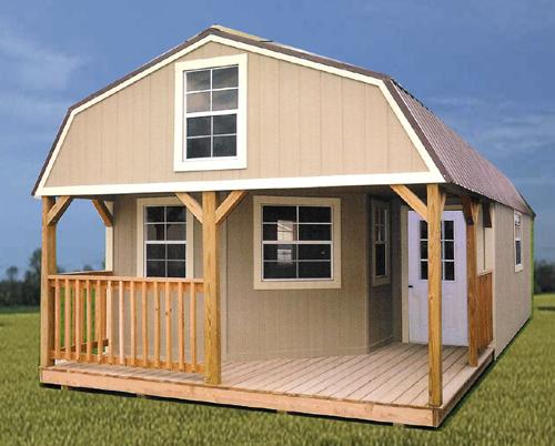 Wharton Portable Buildings Deluxe Cabins